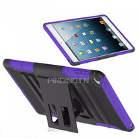 Fashion tablet pc protective case for ipad mini 4 kickstand stand cover belt clip sliding sleeve case for ipad mini 4