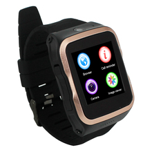 "Android 5.1 Phone Watch MTK6580 Quad-core 2-Way Talk Free App download WiFi Bluetooth GPS 3.0MP Camera 1.54"" display"