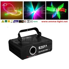 event mini disco laser light/laser 1w rgb sd card//text animation laser projector