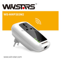 200Mbps Powerline Adapter with AC Pass Through ,ethernet powerline adapter
