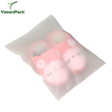 Clothing Slider Packaging Plastic Adhesive Backed Ziplock Transparent Bags With Handle