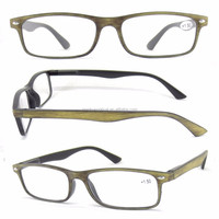 wholesale high quality wood surface reading glasses for old people