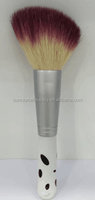 Nail Dust Brush Make up Brush with wood handle