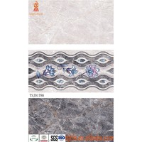 300X600 3d modern kitchen design standard ceramic wall tile sizes