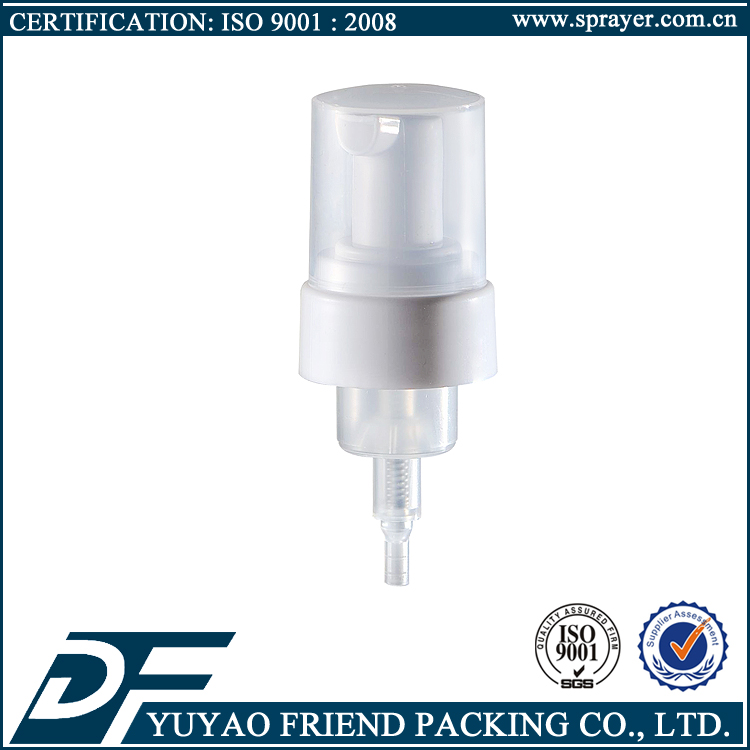 China PP plastic hand soap foam pump sprayer, 28/410 Liquid Soap Foam Pump