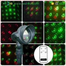 New products 2016 CE UL high quality metal alternating red and green laser light outdoor laser lighting