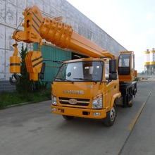 telescopic boom truck mounted crane