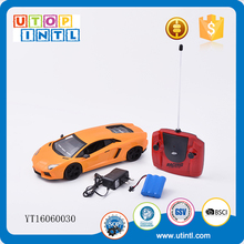 plastic play set novelty remote control electric toy cars for kids