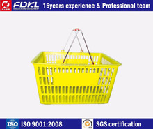 Sell Well Eco-Friendly plastic folding basket for shopping