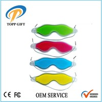 Fashionable gel hot/cold eye patch