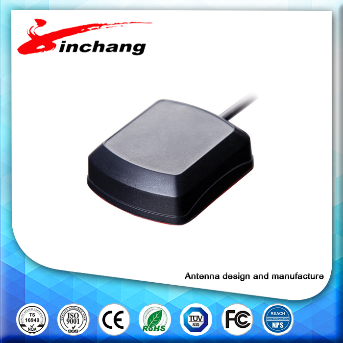 (Manufactory) Free sample high quality low price 28db automative GPS antenna