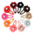 Baby Flower Hairpins Ribbon Hair Bow