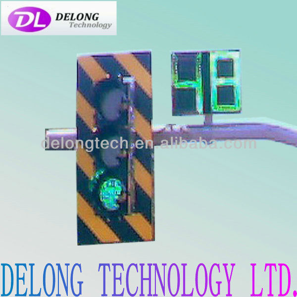 waterproof red green led traffic countdown timer