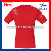 100% polyester running shirt for men,blank short sleeve