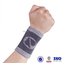Knitting Bamboo Charcoal Wrist Support Wholesale high quantity pain relief wrist band