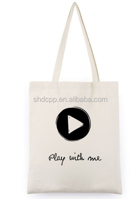 Contemporary new coming european canvss printed shopping bag