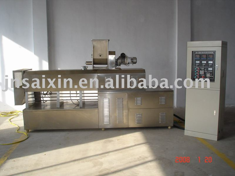 twin Screw extrusion machine-food extruder by chinese earliest extruder supplier,Jinan Saixin