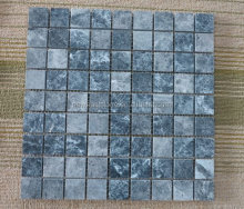 Natural stone blue marble swimming pool mosaic tile