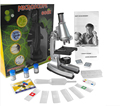 600X educational science toys For Kids Illuminated Microscope with Reflecting Mirror and Lamp
