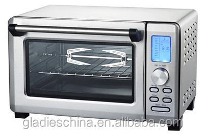 23L 1500W Digital panel Toaster/Roaster Oven with CE