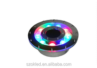 9w underwater led light Fountain RGB waterproof led light ip68 for swimming pool DC 12V High quality