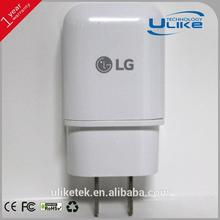For LG 1.8A fast charger original power adapter,universal travel adapter with ce certificate