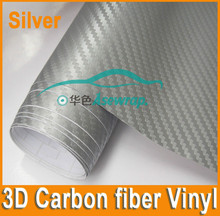 Hot selling film for auto body 3d carbon fiber with free air carbon sticker 3d carbon fiber car vinyl wrap