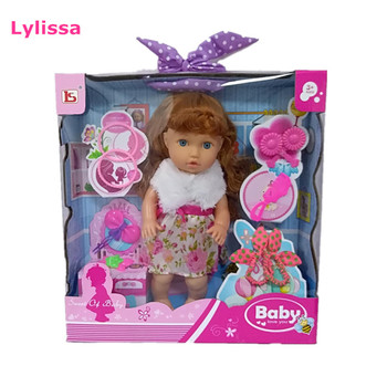 2019 Hot Selling Eco-friendly 16 Inch Doll with Accessories Toys