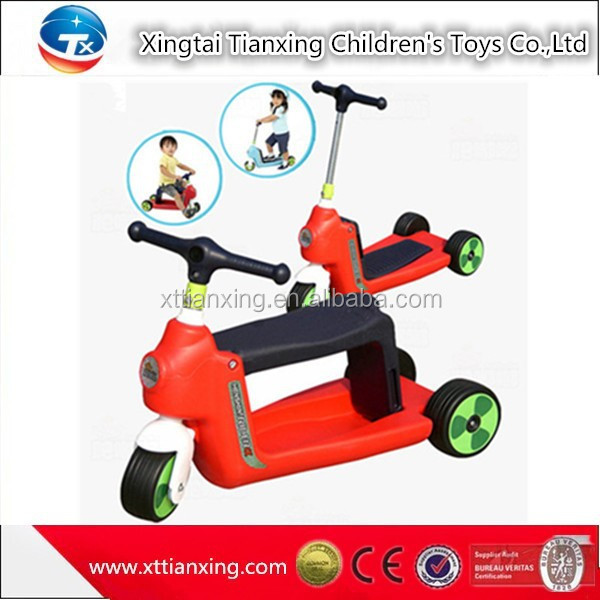 2016 Christmas Gift Hot Sale Child 3 Wheel Scooter / Kids Children Mini Scooter