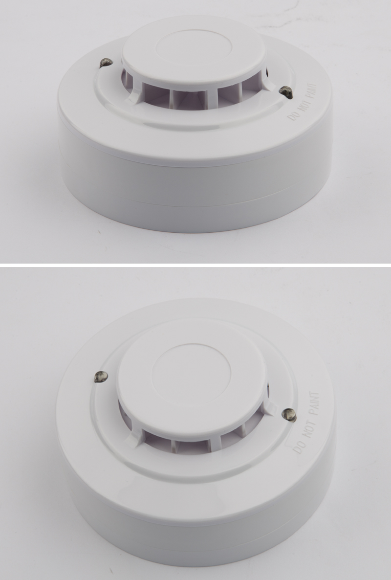CE UL Approved Conventional Heat Detector Fire Alarms for Use in Fire Alarm Signaling Systems