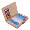 Suede Leather Smart Rotating Wallet Flip Case Cover For iPad mini 2 3 4
