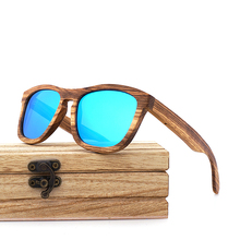 HAND MADE Wooden Sunglasses Men Women Retro Polarized Sun Glasses 100% UV Protection