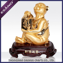 Chinese small feng shui animal monkey figurines