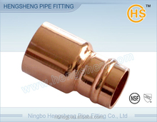 Copper coupling Fitting Reducer FTG x C