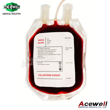 Acewell Medical Disposable Blood Collection Transfusion Bag