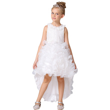 New summer beautiful design baby 1 year old party trailing dress for fat girls LT-21