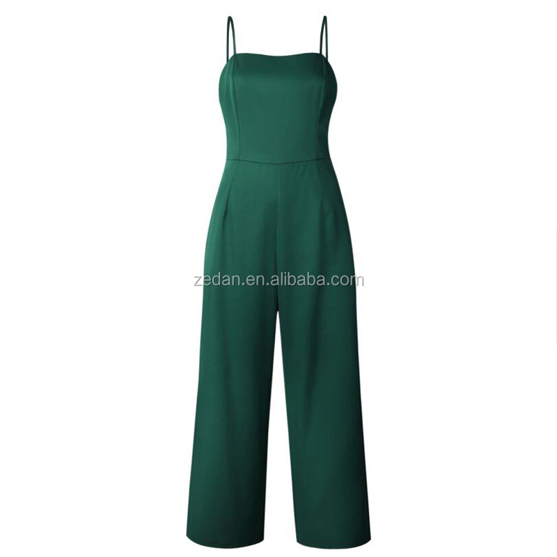 adult floral jumpsuits summer overall ladies casual pants