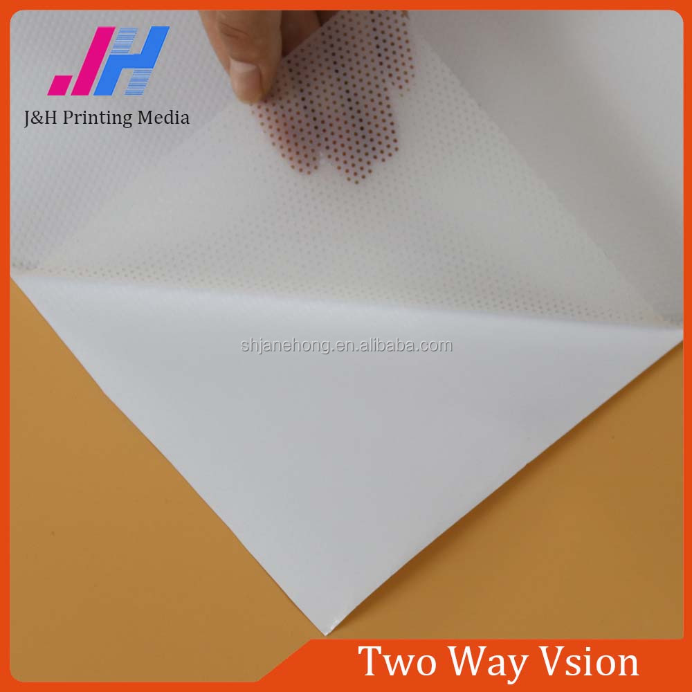Clear Removable Gule Two Way Vison Window Screen Vinyl Film