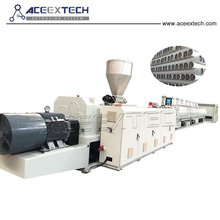 Whole sale plastic110-315mm pvc upvc pipe extrusion machine for water supply