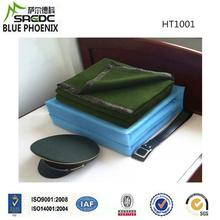 Wool Polyester Green Solid Col Single Ply Alibaba Premium Market military 100 wool blanket