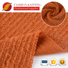 plain soft loose knitted 100 acrylic coated fabric