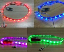 7 colors 11 models High quality waterproof LED strip light for shoe sole