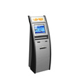 Ticket Vending Machine With Barcode Scanner And Printer