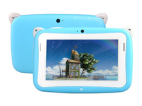 Best Selling 4.3 inch single Core Cheap Android 4.4 Children Tablet Kids Tablet