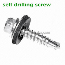 DIN7504K Self Drilling Screws with rubber washer for metal