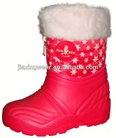 New Injection name brand winter fur boots for women for outdoor and promotion,light and comforatable