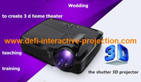 New arrival! 4500 Lumen cheap full hd dlp projector