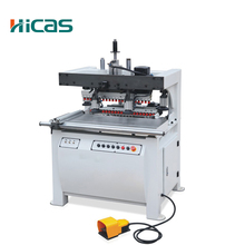 Woodworking Two Line Wood Hole Drilling Machine