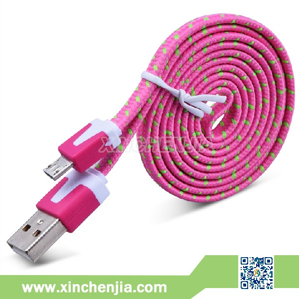 3pin 5 pin micro usb cable for mobile phone