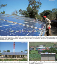 High conversion good price 1000W Monocrystal PV Solar Panel / high efficiency solar module system for home use 10KW